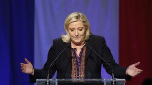 Marine Le Pen said her party was on an