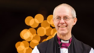 Archbishop of Canterbury: Britain must welcome refugees.