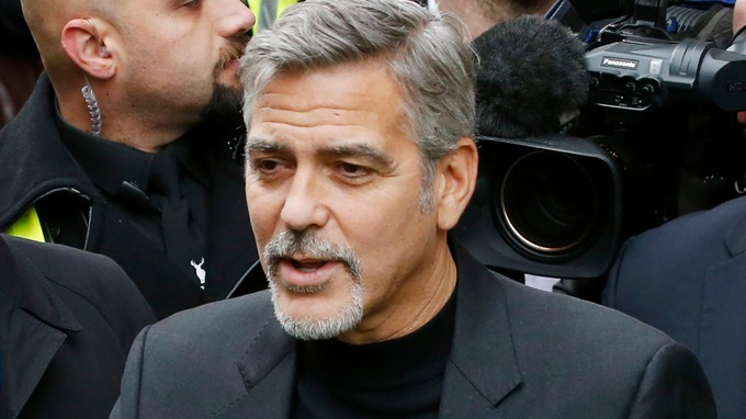 George Clooney helps launch Feed the Homeless at Christmas campaign Dec 14, 2015 Stream_img
