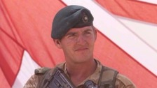 Alexander Blackman is serving eight years for murdering a Taliban insurgent.