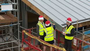'Santa's helpers' working on-site.