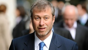 Roman Abramovich outside the Royal Courts of Justice in November 2011