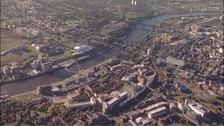 Newcastle and Gateshead.