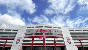 The Britannia Stadium, home of Stoke City FC