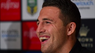 Sam Burgess is set to return to league in February