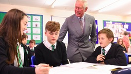 His Royal Highness visits Merthyr Tydfil