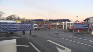Flood-hit Carlisle supermarkets prepare for Christmas rush