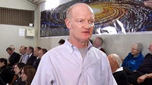 David Willetts speaks shortly before Tim Peake was due to board the ISS.