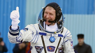 Tim Peake will work out for two hours a day to keep his strength up in space.