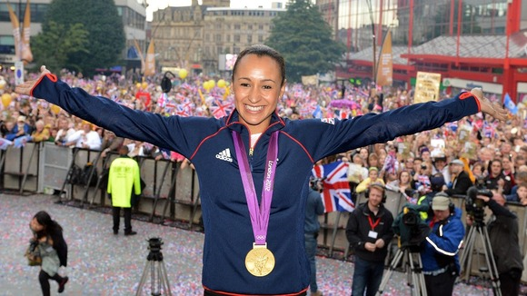 Jessica Ennis Sheffield united