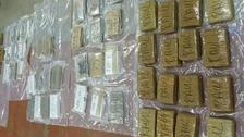 60 kilos of cocaine seized.