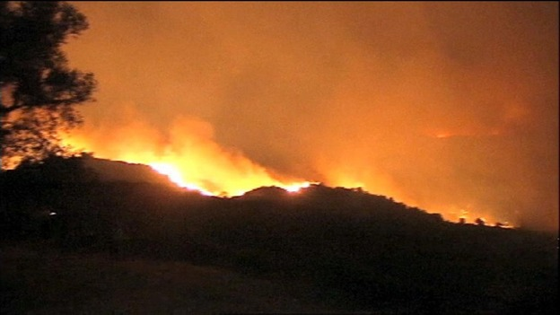 Huge Wildfire Reaches Marbella In Southern Spain