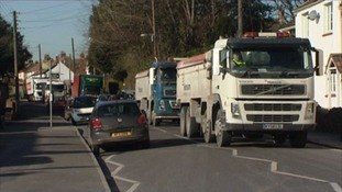 It's hoped the by-pass will alleviate traffic during construction of the new Hinkley Point C