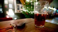 Car keys and a pint