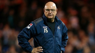 Sacked Luton manager John Still.