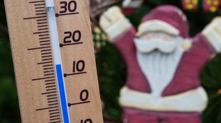 December temperature records have been broken in Suffolk and Bedfordshire.