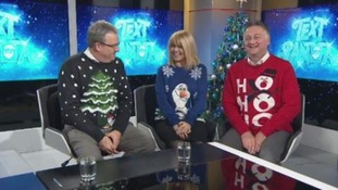 Text Santa: Time to dig out your festive jumpers