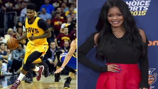 NBA star Iman Shumpert plays midwife and delivers his own child