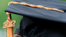 Former students will put on their cap and gowns today