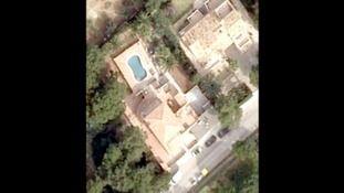 Aerial view of one of the properties