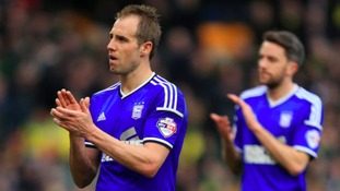 Luke Varney is staying at Ipswich Town.
