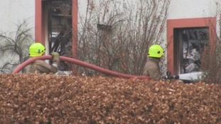 WATCH: crews called to 'significant fire' at Dalton Pottery