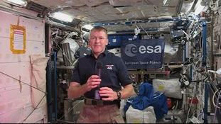 Tim Peake reveals his first impressions of life in space