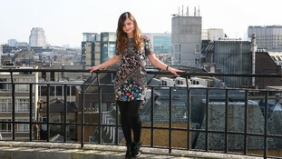 Jenna-Louise Coleman in London as she is unveiled as the new Dr Who assistant.