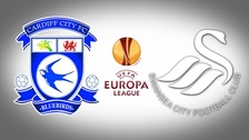 Cardiff City and Swansea City badges