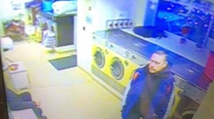 CCTV image from laundrette in Skipton