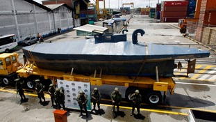 Narco sub carrying three tons of cocaine captured in the Pacific Ocean