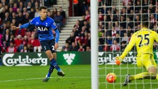 Dele Alli doubles Tottenham's lead over Southampton at St Mary's