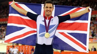 Welsh cyclist Mark Colbourne scoops gold for Great Britain