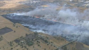 Firefighters battle hundreds of wildfires in Australia