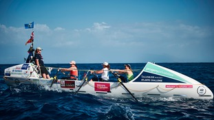 Yorkshire mums set sail on gruelling Atlantic rowing race
