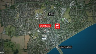 The woman's body was found in a house in Old Road.