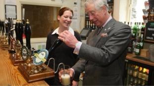 Prince Charles in Windermere