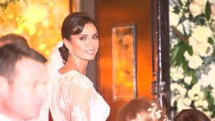 Stars arrive at Christine Bleakley and Frank Lampard's glamorouschurch wedding