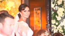 Stars arrive for Christine Bleakley and Frank Lampard's glamorous wedding at St Paul's Church in central London.