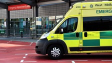 The boy was taken to hospital in Worcester before being transferred to Birmingham