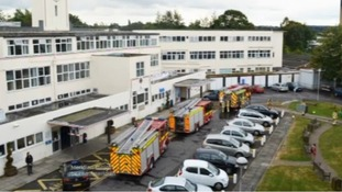 Police investigate fires at three of region's hospitals