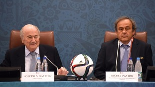 Blatter and Platini have been banned