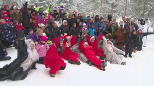 'Wish-Upon-A-Star' group visit Lapland.