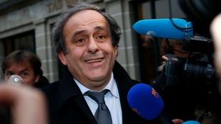 Uefa President Platini