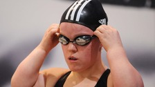 Paralympic swimmer Ellie Simmonds