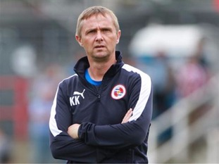 Kevin Keen is the new man in charge at Colchester
