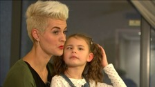 Kristy Hooper and her daughter Lily-Grace