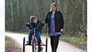 Mother: compensation will secure my son's future
