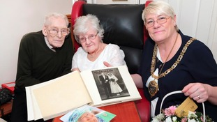 Stanley couple celebrate diamond anniversary