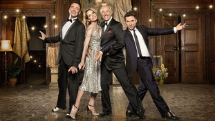 The Strictly judges, (l - r), Craig Revel Horwood, Darcey Bussell, Len Goodman, and Bruno Tonioli.